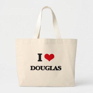 Eu amo Douglas Sacola Tote Jumbo
