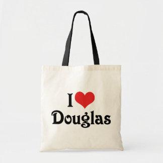 Eu amo Douglas Bolsa Tote