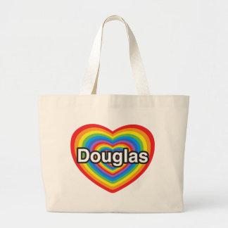 Eu amo Douglas. Eu te amo Douglas. Coração Bolsas