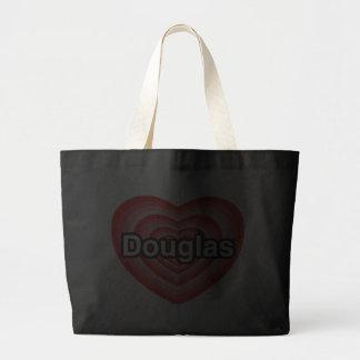 Eu amo Douglas. Eu te amo Douglas. Coração Bolsas De Lona