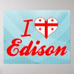 Eu amo Edison, Geórgia Poster