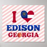 Eu amo Edison, Geórgia Pôsteres