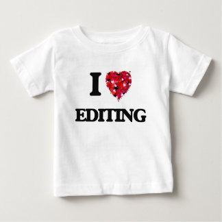 Eu amo EDITAR Tshirt