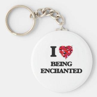 Eu amo Enchanted Chaveiro