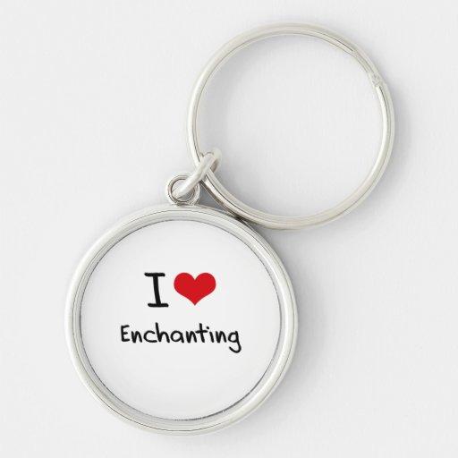 Eu amo Enchanting Chaveiros