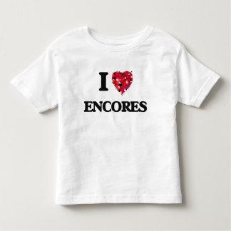 Eu amo ENCORES Camiseta