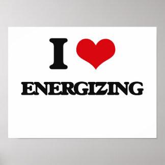 Eu amo ENERGIZAR Poster