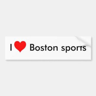 Eu amo esportes de Boston Adesivo Para Carro