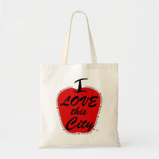 Eu amo este saco de bolsa da cidade