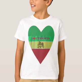 Eu amo Ethiopia.png Camiseta
