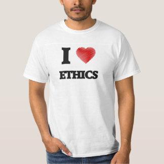 Eu amo ÉTICAS Tshirts