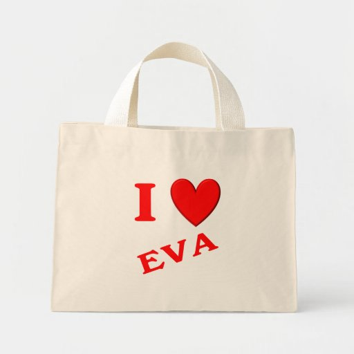 Eu amo Eva Bolsa Para Compra