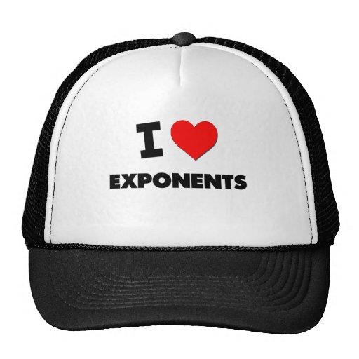 Eu amo exponentes bones