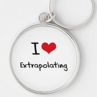 Eu amo extrapolar chaveiros