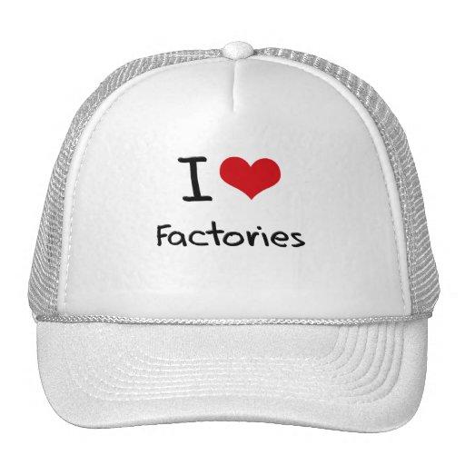 Eu amo fábricas bone
