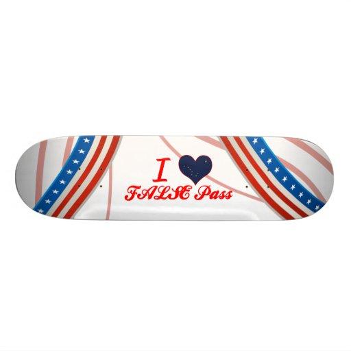 Eu amo FALSO+Passe, Alaska Skateboard