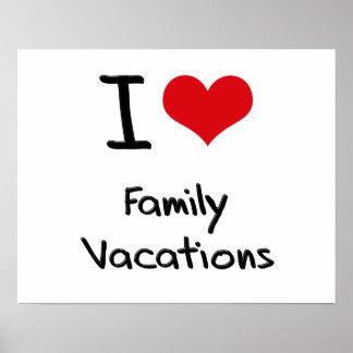 Eu amo férias em família poster
