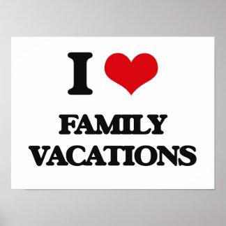 Eu amo férias em família posters