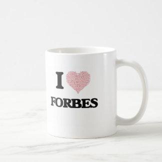 Eu amo Forbes Caneca