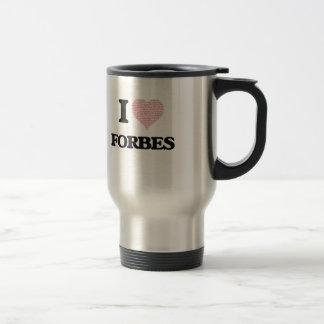 Eu amo Forbes Caneca Térmica