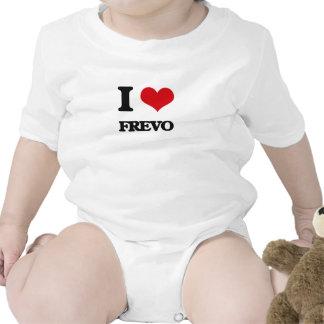 Eu amo FREVO Macacãozinho Para Bebê