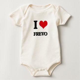 Eu amo FREVO Macacãozinhos Para Bebê