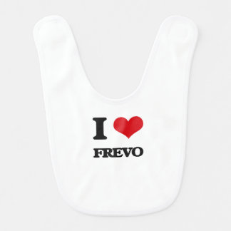 Eu amo FREVO Babadores Para Bebes
