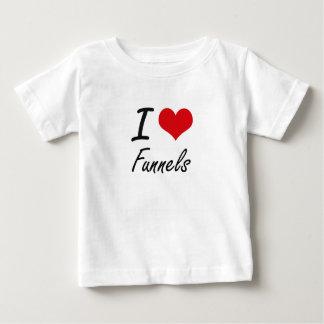Eu amo funis tshirts