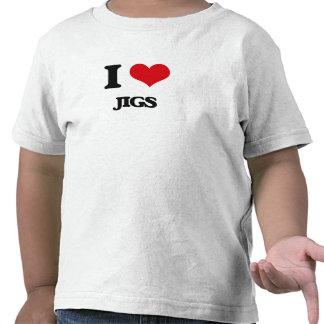 Eu amo gabaritos tshirt