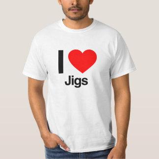 eu amo gabaritos tshirts