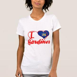 Eu amo Gardiner, New York T-shirts