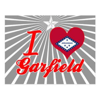 Eu amo Garfield Arkansas Cartoes Postais