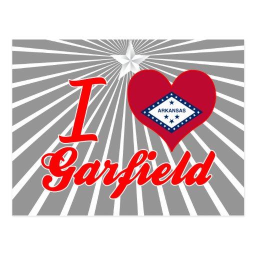 Eu amo Garfield, Arkansas Cartoes Postais