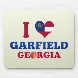 Eu amo Garfield Geórgia Mouse Pad