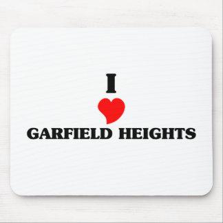 Eu amo Garfield Mouse Pad