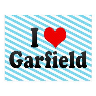 Eu amo Garfield, os Estados Unidos Cartão Postal