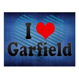 Eu amo Garfield os Estados Unidos Cartões Postais