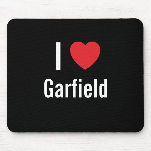 Eu amo Garfield Mousepad