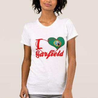 Eu amo Garfield Washington Tshirts