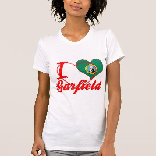 Eu amo Garfield, Washington Tshirts