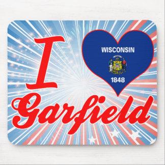 Eu amo Garfield, Wisconsin Mouse Pad