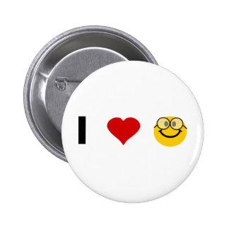 Eu amo geeks botons