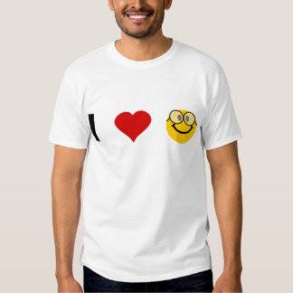 Eu amo geeks tshirt