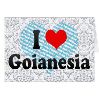 Eu amo Goianesia, Brasil Cartões