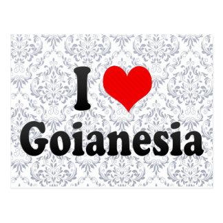 Eu amo Goianesia, Brasil Cartão Postal
