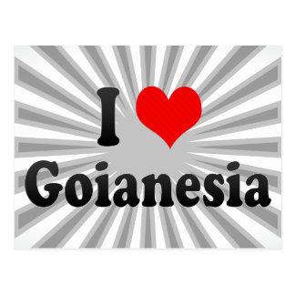 Eu amo Goianesia, Brasil Cartoes Postais