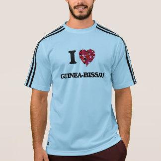 Eu amo Guiné-Bissau Tshirts