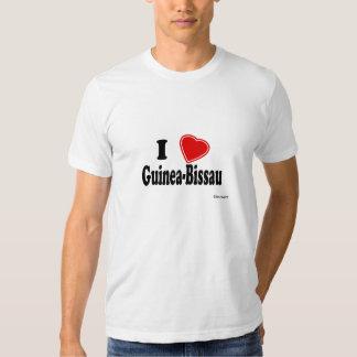 Eu amo Guiné-Bissau T-shirts