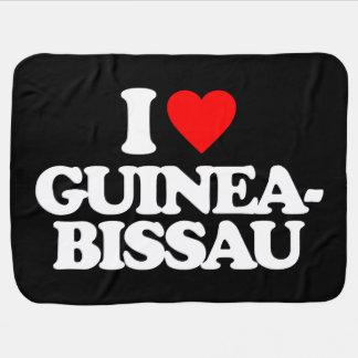 EU AMO GUINÉ-BISSAU COBERTOR DE BEBE