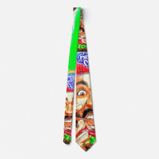 Eu amo hamburgueres - laço da porta do hamburguer gravata